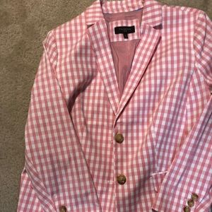 Talbot pink & white check jacket!  Great quality